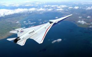 máy bay siêu thanh có cánh nhỏ