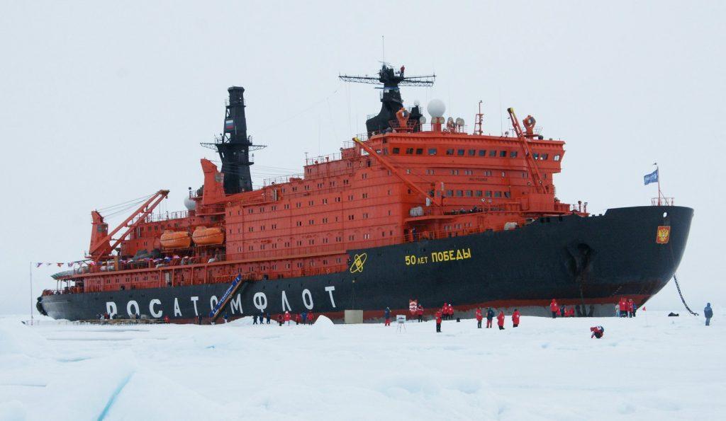 tàu phá băng của Nga